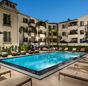 The Glendon Apartments in Westwood Village