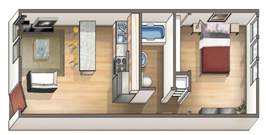 Waena Apartment Floor Plan Ilima