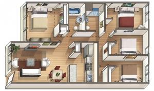 Waena floor plan Kalei