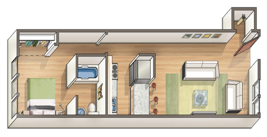 Waena Apartment Floor Plan Kiele