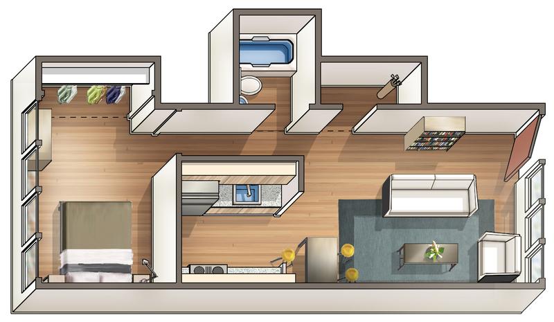 Waena Apartment Floor Plan Maile