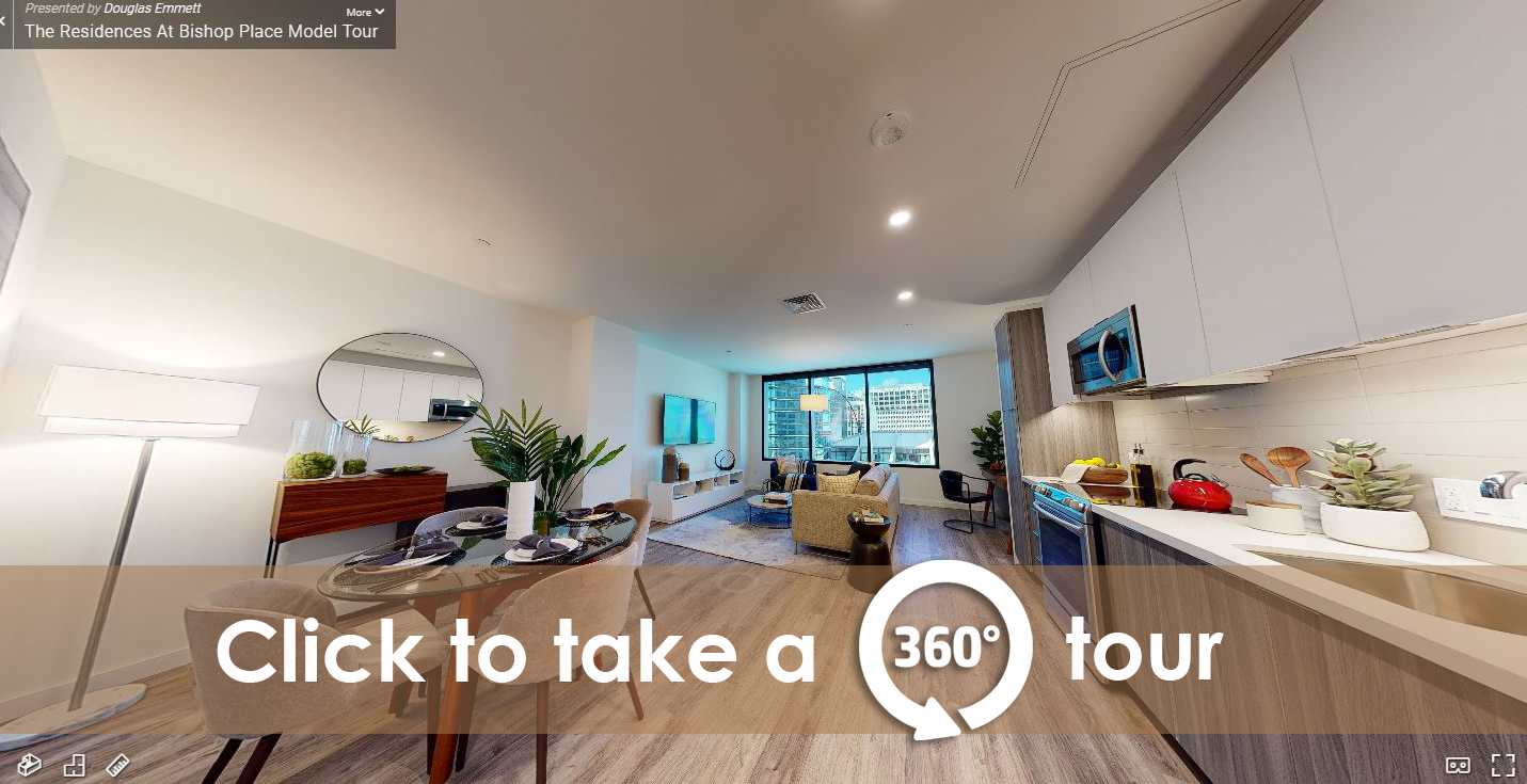Fully furnished living room - Virtual Tour