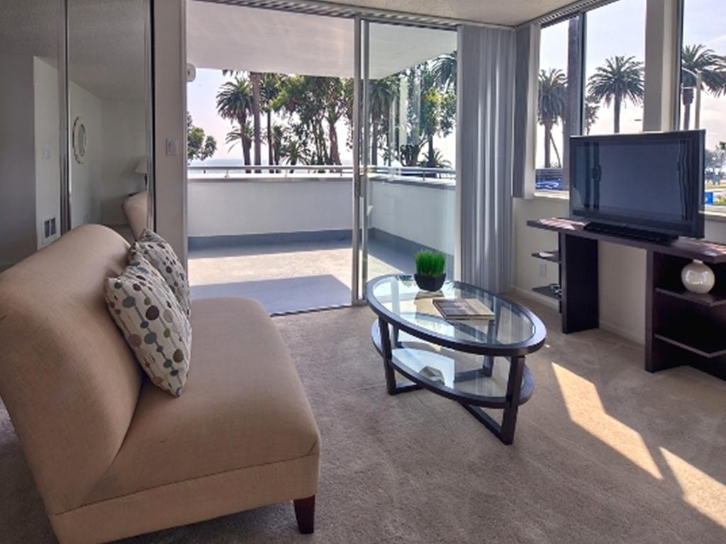 Santa Monica apartment with ocean views